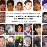 adolescentes desaparecidos en Buenos Aires